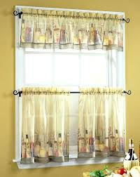 red and white country kitchen curtains full size of valance ideas