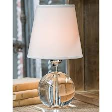 Destinations By Regina Andrew Lamps by Regina Andrew Design Crystal Mini Sphere Lamp 13 1014