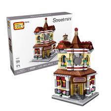Amazoncom LOZ Mini Building Blocks Toys For KidsAdults Christmas