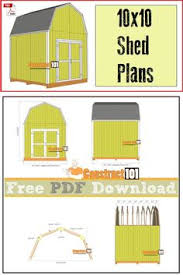 Free Diy Shed Plans by Shed Plans 10x12 Gambrel Shed Pdf Download Gambrel Shopping