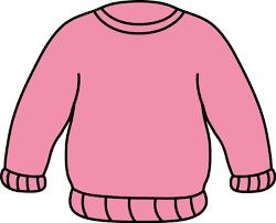 Pink Sweater Clip Art