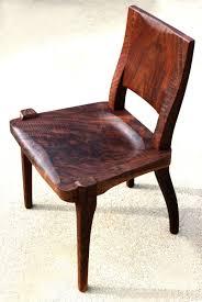 Custom Modern Dining Chair, Claro Walnut Figured By Aaron ...