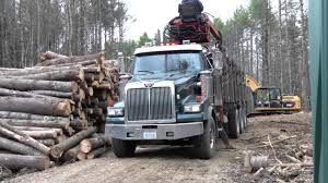 Western Star Log Loader In Action - YouTube East Texas Truck Center Used Trucks For Sale 2016 Kenworth W900l Logging For Sale Rickreall Or Cc Page 4 Bc Logging 19 Jf T800 Peterbilt Peterbilt Log Trucks For Sale In Oregon Archives Best Trucks 2002 Mack Cl713 Tri Axle Log By Arthur Trovei Sons Hayes Manufacturing Company Wikipedia Kraft 3 Axle 1999 400 Gst At Star Loggingtrucks Mack Lt Double Edge Equipment Llc Asset Forestry Western 6900xd Super Heavy Duty Applications