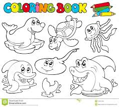 Royalty Free Stock The Art Gallery Coloring Books Animals