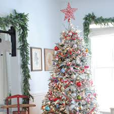 Vintage Glass Ornament Tree