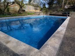 Npt Pool Tile Palm Desert by Pools With Hydrazzo Pacific Blue Finish Pool Finishes
