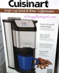 Costco Has The Cuisinart Single Cup Grind Brew Coffeemaker On Sale For 2999 After Manufacturers Instant Rebate Now Through August 20 2017