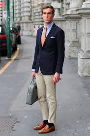 how to wear a navy blazer the idle man