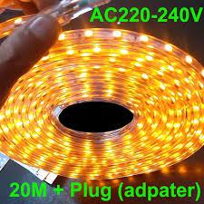 led rope light 20m led strip light 220v AC220V 230V 240VSMD