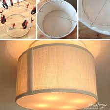 diy wall light cover and best 25 drum shade ideas on diy