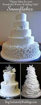 298 best Winter Wedding Cakes images on Pinterest
