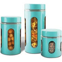 Ceramic Kitchen Canister Sets Buy Kitchen Canisters At Overstock Our Best Kitchen