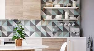 carrelage faience cuisine poser du carrelage mural dans sa cuisine une démarche esthétique