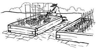 Ve able Garden Clip Art Black And White