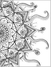 Matthew 6 25 34 Coloring Sheet Zendala Book By Lynne Medsker Dover Publications Page 4