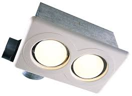 Nutone Bathroom Fan Replacement Bulb by Air King Ak917 Bulb Heater With Exhaust Fan Single Bulb