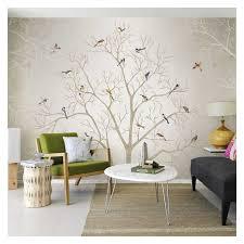 tuya american vintage vögel auf tree poster wandbild tapete für wohnzimmer schlafzimmer kostenloser versand rabatt