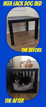 Used Ikea Lack Sofa Table by Ikea Dog Bed Hack Want An Easy Stylish Dog Bed It U0027s Just Two