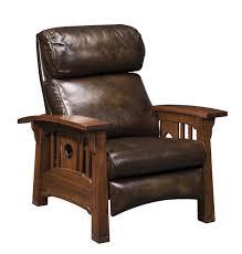 Morris Chair Recliner Mechanism by Cabin Recliner Rustic Chair Lodge Club Chair Lounge Chair