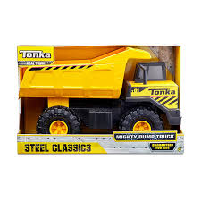 Tonka Classic Steel Mighty Dump Truck Vehicle: Amazon.com.au: Toys ...