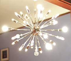 lights mid century modern ceiling light glass lighting fixtures
