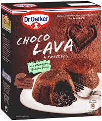 dr oetker kuchenmischung choco lava dr august oetker