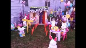 Halloween Blow Molds by Easter Display Blow Molds 2014 Youtube