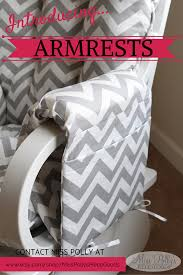 Best Chairs Inc Glider Rocker Replacement Springs by Custom Made Armrests With Pockets To Fit Your Glider Chairs Pin