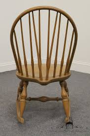 Nichols And Stone Windsor Armchair by Nichols U0026 Stone Co Bowback Windsor Maple Rocking Chair Ebay