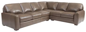 Decoro Leather Sectional Sofa by Build Your Own Sectional Sofa