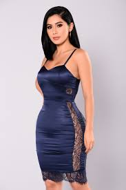 be calling lace dress navy