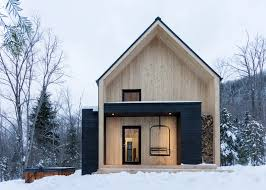 100 Cargo Houses Architecture Creates A Holiday Home In A Quebec Forest