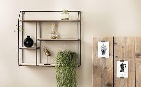 dekoratives vintage schweberegal mit 4 etagen lifa living