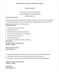 Store Associate Resume Sample Awesome Sales Examples Template Easy Of