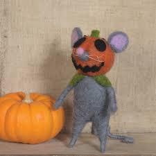 Pumpkinhead 2 Cast by Felt Pumpkin Head Mouse Ornament Set Of 2 By Homart Seven Colonial
