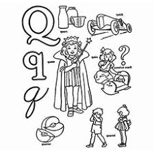 Top 10 Free Printable Letter Q Coloring Pages Online Preschool