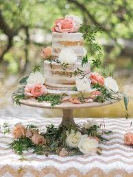 Beautiful Cake Presentation Rustic Minimal Frosting And Smooth Unfinished Wood Stand
