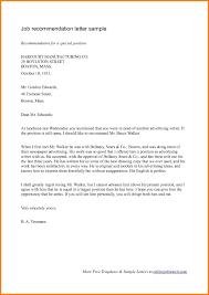 Letter Of Recommendation For Babysitter Sample Documents