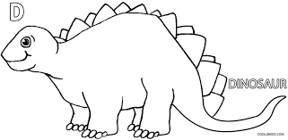 Dinosaur Coloring Pages Nice Simple