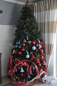 Walmart White Christmas Trees 2015 by Remodelaholic How To Decorate A Christmas Tree A Designer Look