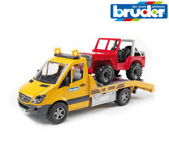 100 Bruder Tow Truck Toys 02535 Mercedes Benz Break Down Recovery Car