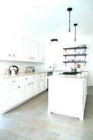 White Floor Tiles Kitchen Tile Ideas Large