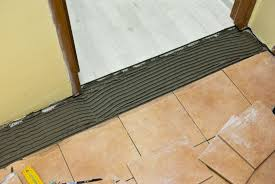 Wood To Tile Metal Transition Strips by Transition From Tile To Laminate Howtospecialist How To Build