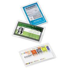 fice Depot Brand Laminating Pouches ID Badge 5 Mil 2 5 x 3 75