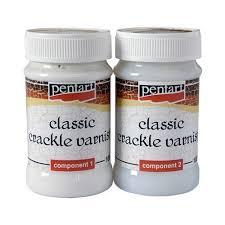 Two Component Lacquer Cracks Classic Pentart 2x100 Ml