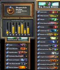 strategy metadeck 1 big druid beats hearthstone