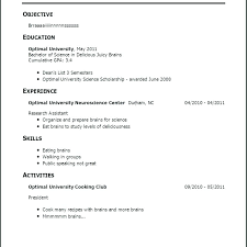 Sample Resume With No Work Experience College Student Philippines First Samples Nurse