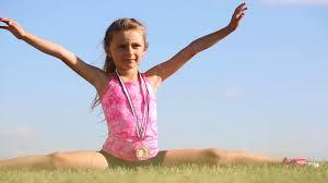 100 18 Tiny Teen Little Girl In Shorts Splitting Legs Apart On Green Grass In Sunny Summer Day Stock Video Footage Storyblocks Video