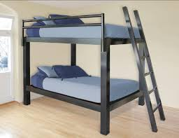 bunk beds twin over queen with trundle modern storage twin bed