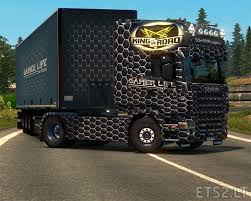 100 Truck From Gamer Life Xpress Combo Skin ETS 2 Mods